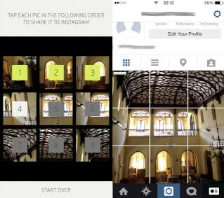 mejora de timeline de Instagram
